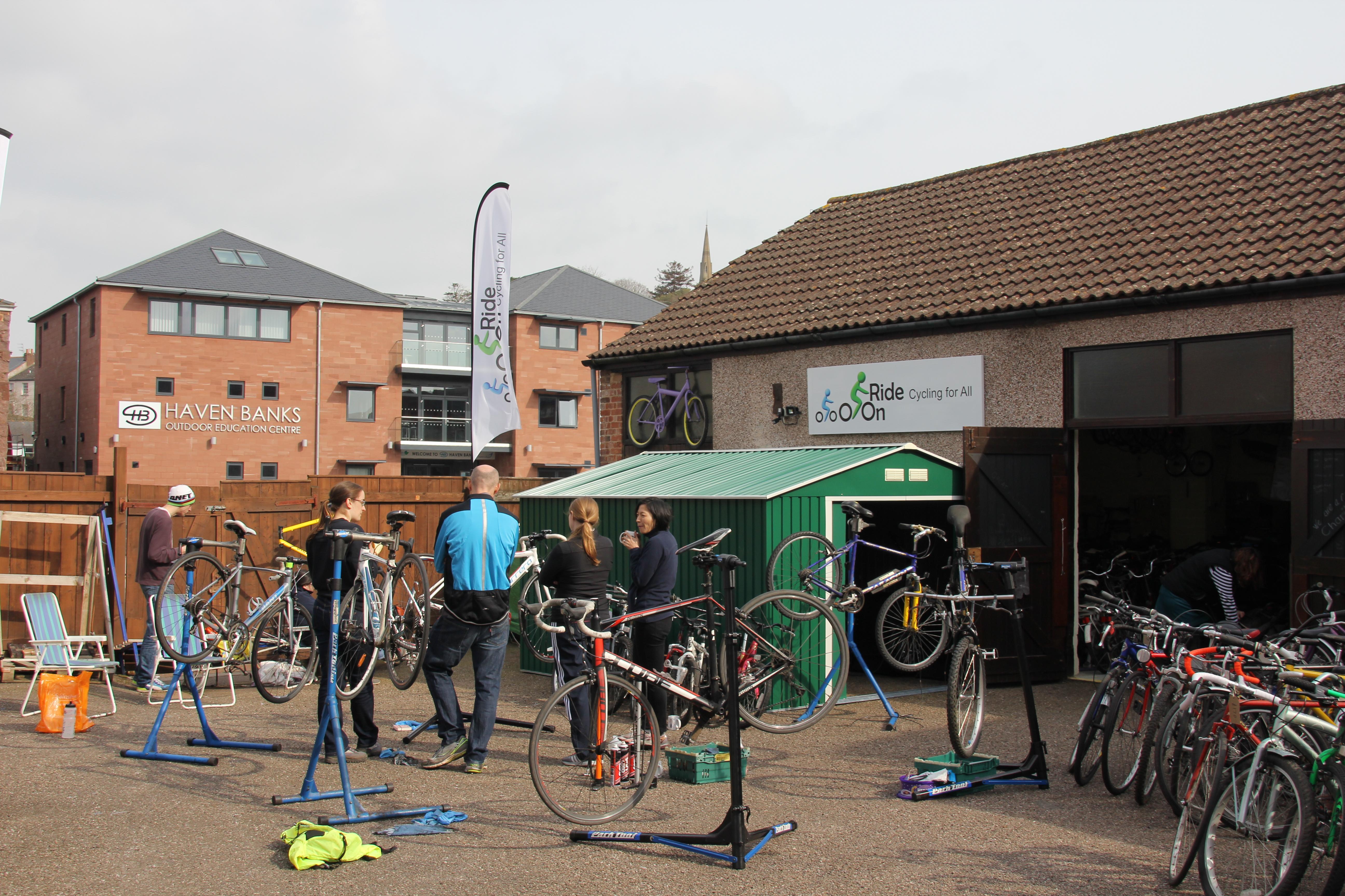 Outdoor Bike Maintenance course
