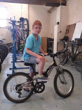 bike loan to 10yr old bikeability